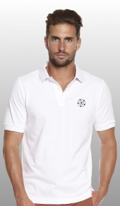 Yorkshire Rose White polo