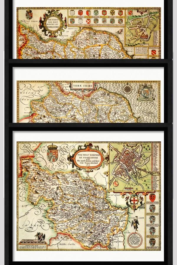 Yorkshire Ridings Maps Bundle