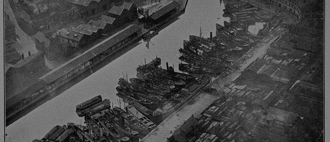 July 28th Hull docks Thomas Sheppard