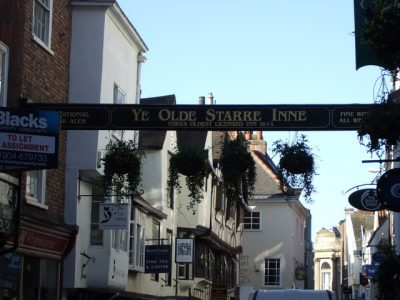 The Ye Olde Starre Inne has served thirsty punters since it opened during the Civil War. Picture Credit: Stanley Howe wikipedia creative commons.