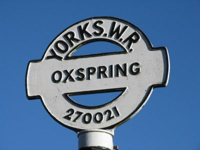 The West Riding once covered the area between Sheffield to the top of the Yorkshire Dales. The signage can still be seen in certain places. Picture credit: Dave Pickersgill geograph wikipedia creative commons.