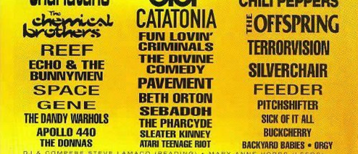 Leeds festival 28th August
