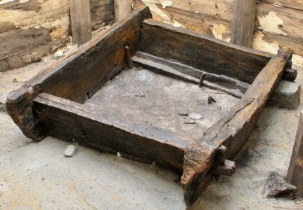 This is one of the oldest pieces of carpentry in the world and was found near Scarborough. PIcture credit: populararchaeology.com
