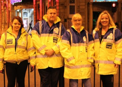 The Street Angels are now an important presence in town centres on weekends. Picture credit: cni network
