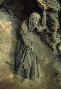 Mother Shipton witch or prophetess? Picture credit: chris wikipedia creative commons.