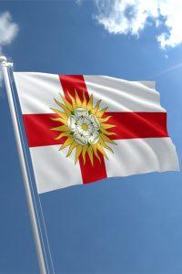 West Yorkshire Riding Flag
