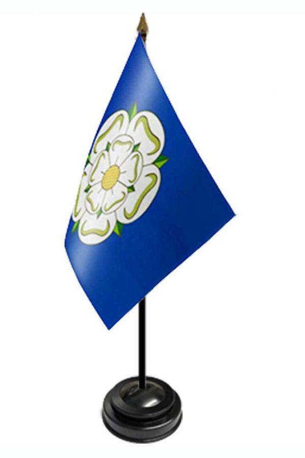yorkshire rose table flag