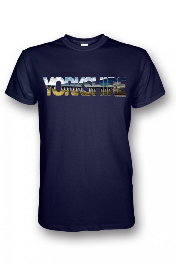 ribblehead yorkshire collection navy t-shirt