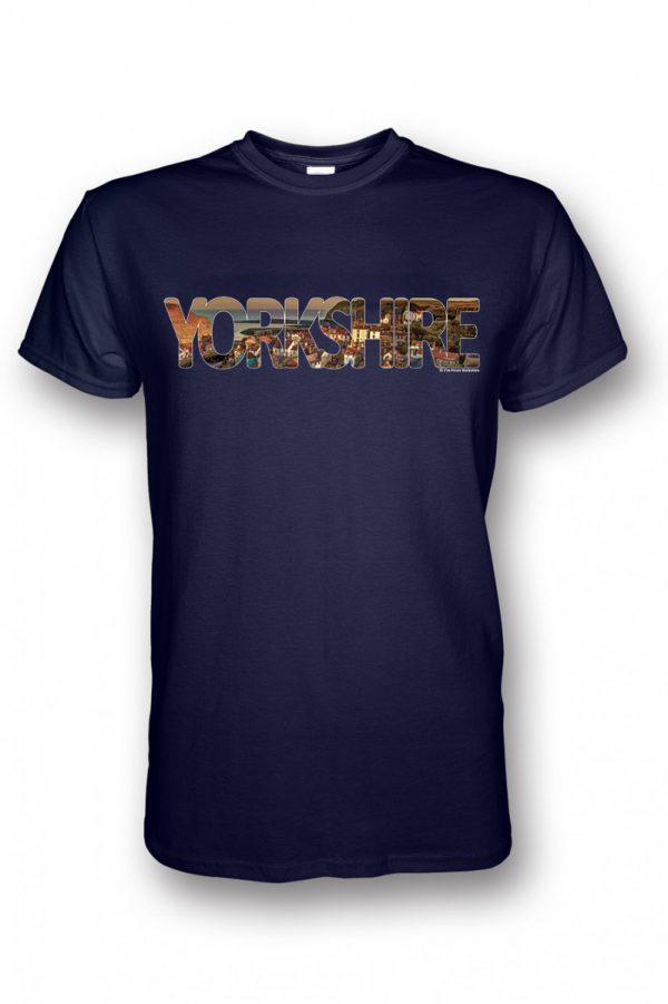 Staithes t-shirt navy - Yorkshire collection