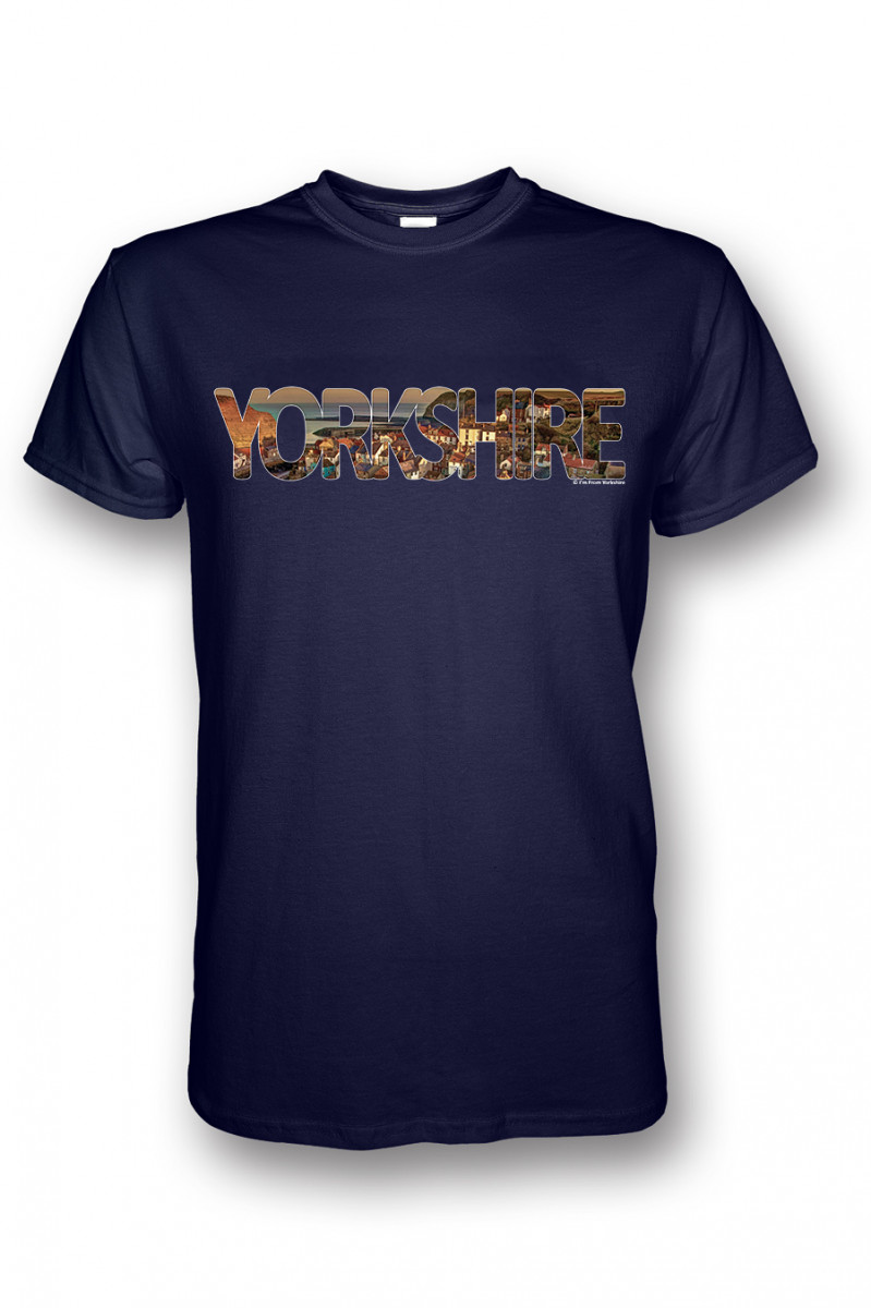 3e0226290ed2 YORKSHIRE T-shirt - STAITHES Edition - by I'm From Yorkshire