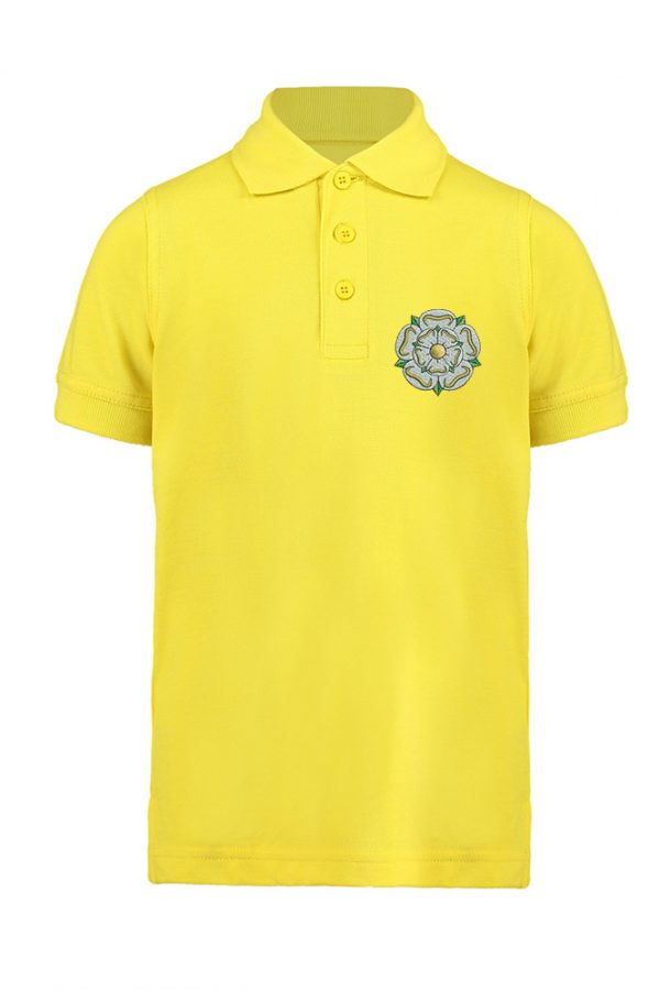 children's yorkshire rose polo canary