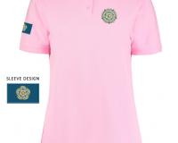 pink Ladies Yorkshire Rose Polo Shirt
