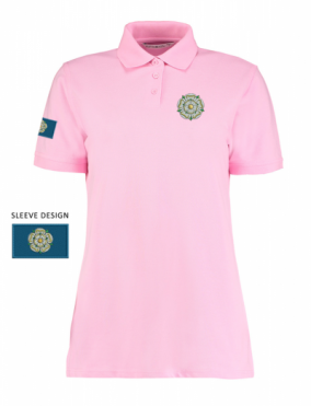 pink Ladies Yorkshire Rose Polo Shirt