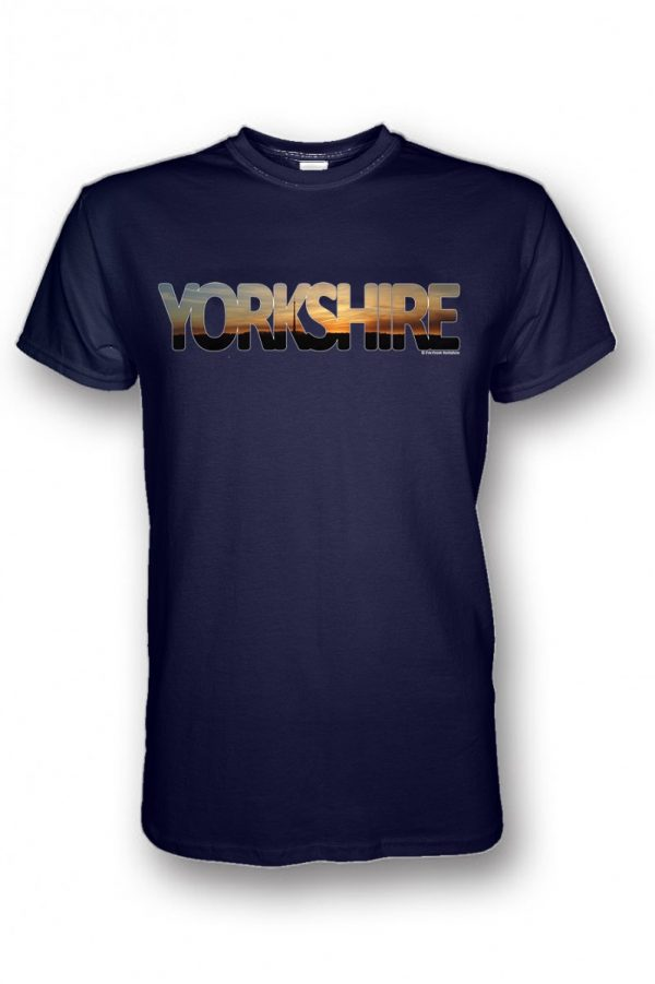 emley moor mast yorkshire collection t-shirt navy
