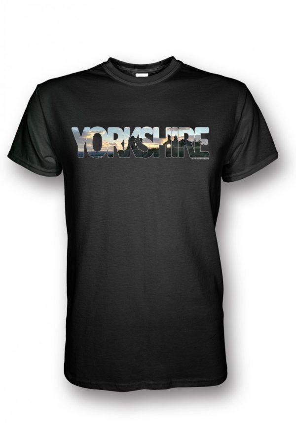 sandal castle Yorkshire collection t-shirt black