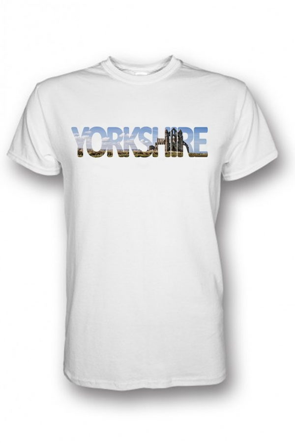 yorkshire collection whitby t-shirt white