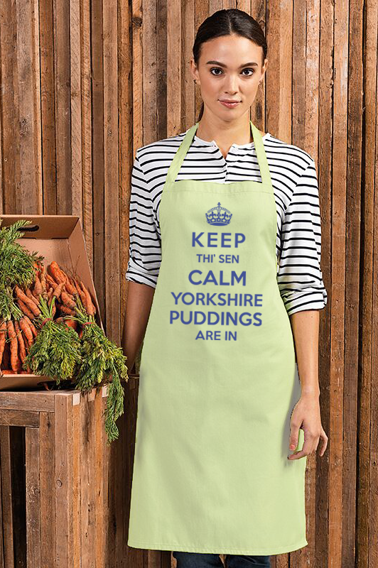 Keep calm Yorkshire Pudding Apron