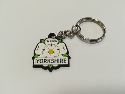 front of the I'm From Yorkshire keyring